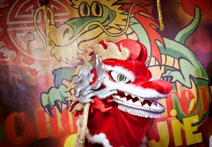 «Дракон party в Новый Год в ЖК «Ладья»