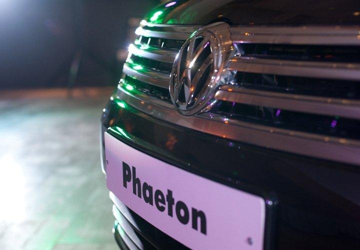 Презентация автомобиля «Volkswagen Phaeton»