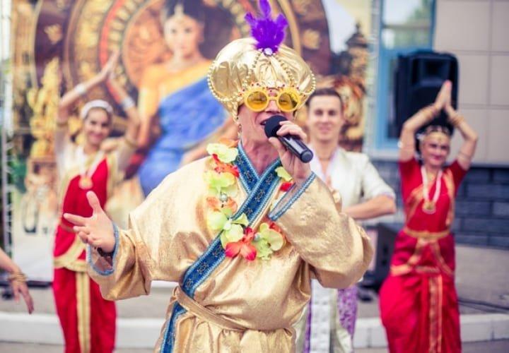 «Индийский праздник «ОНАМ» для ЖК «Ладья»