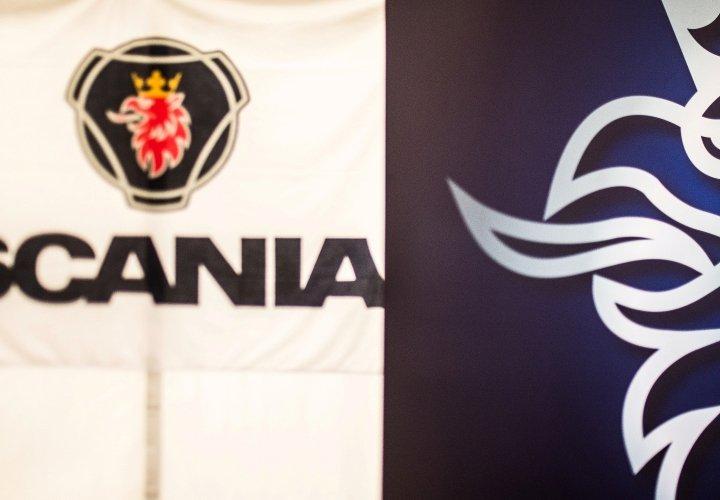 Выставка техники «Scania» на пл. Куйбышева