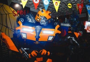 «Вечеринка супергероев для Лёвы»