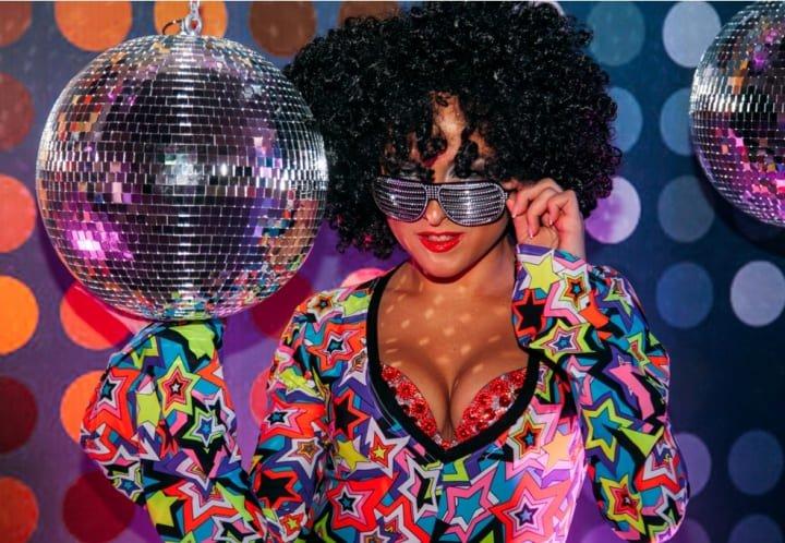 Новогодняя Disco Party для «Русфинансбанка»